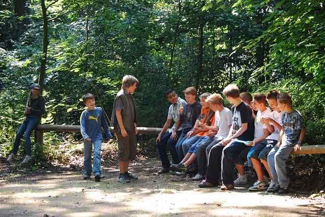 Activités de groupe de jeunes – Boot Camp