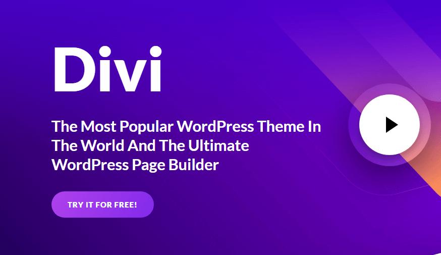 Choisir le thème WordPress Divi : 10 raisons